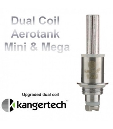 Résistance Dual Coil Aérotank - Kanger