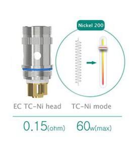 Résistance Nickel 0.15 ohm pour Melo 2 Eleaf EC TC
