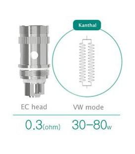 Résistances Kanthal pour Melo 2 Eleaf EC Dual Coil