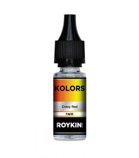 Crazy Red - e-Liquide Roykin Kolors