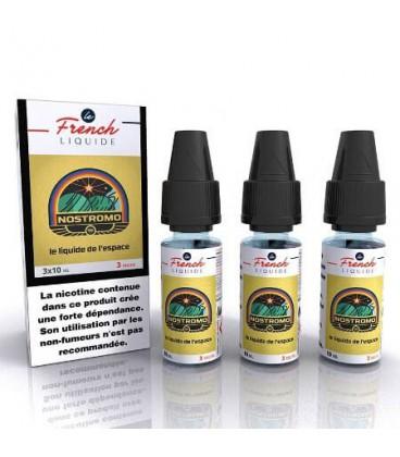 e-Liquide Nostromo Le French Liquide 3x10 ml avec nicotine