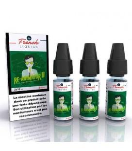 e-Liquide Re-Animator 2 Le French Liquide 3x10 ml avec nicotine