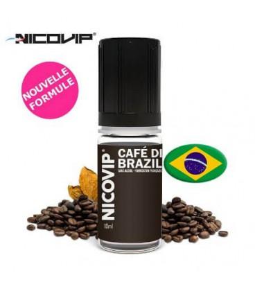 Cafe Di Brazil Nicovip, e-liquide français pas cher gout café