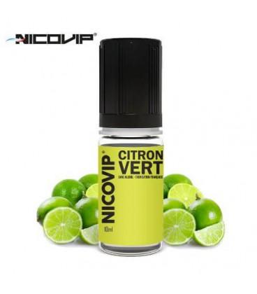 e-Liquide Nicovip Citron Vert, eliquide français pas cher saveur citron vert