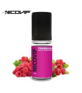 e-Liquide Nicovip Framboise, eliquide français pas cher