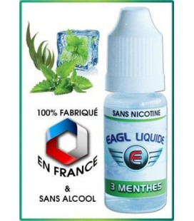 3 Menthes - e-Liquide Eagle