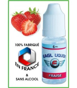 Fraise e-Liquide Eagle, eliquide français pas cher