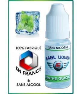 Menthe Glaciale e-Liquide Eagle, eliquide français pas cher