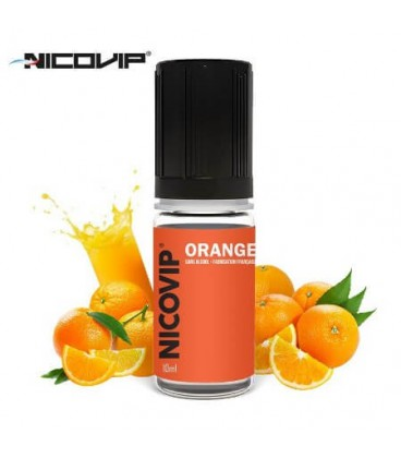 e-Liquide Nicovip Orange, eliquide français pas cher gout orange