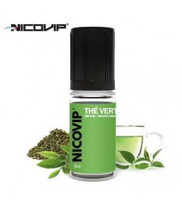 Thé Vert e-Liquide Nicovip, eliquide français pas cher au thé vert