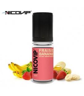 Fraise Banane e-Liquide Nicovip