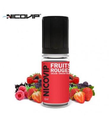 e-Liquide Fruits Rouges Nicovip, e-liquide français pas cher