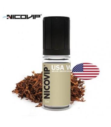 Tabac USA W e-Liquide Nicovip, e-liquide français pas cher