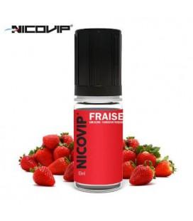 Fraise e-Liquide Nicovip