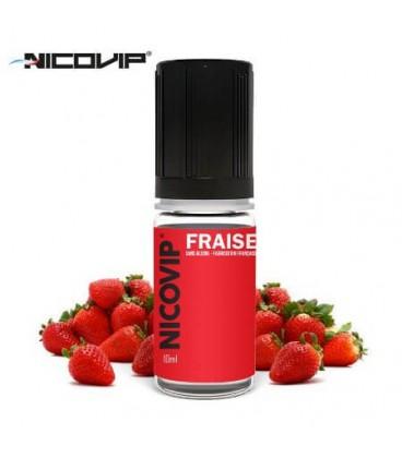 e-Liquide Fraise Nicovip, e-liquide français pas cher gout fraise