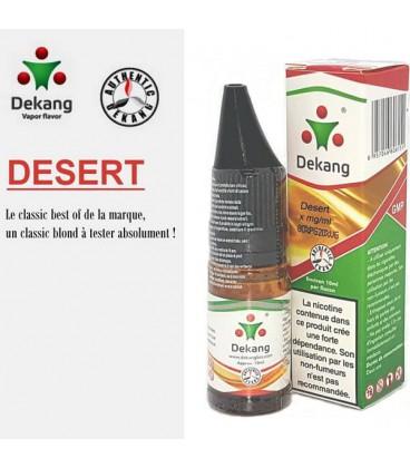 Desert e-Liquide Dekang Silver Label, e-liquide pas cher