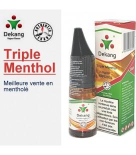 Triple Menthol e-Liquide Dekang Silver Label