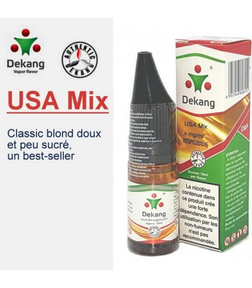 USA MIX e-Liquide Dekang Silver Label, e liquide pas cher