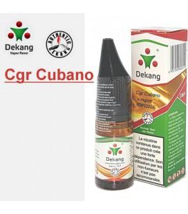 Cigar Cubano | Cuba Cigar e-Liquide Dekang Silver Label, e liquide pas cher