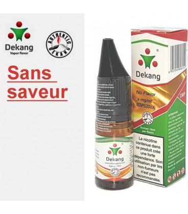 Sans Saveur e-Liquide Dekang Silver Label, e liquide pas cher