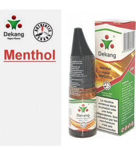 Menthol e-Liquide Dekang Silver Label, e liquide pas cher