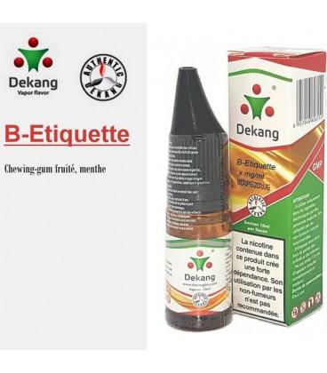 B-Etiquette e-Liquide Dekang Silver Label, e liquide pas cher