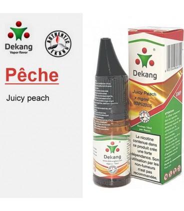 Pêche e-Liquide Dekang Silver Label, e-liquide pas cher