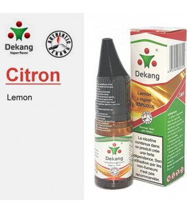 Lemon Citron e-Liquide Dekang Silver Label