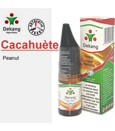 Cacahuète e-Liquide Dekang Silver Label, e-liquide pas cher