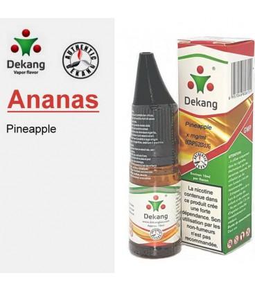 Ananas e-Liquide Dekang Silver Label, e-liquide pas cher