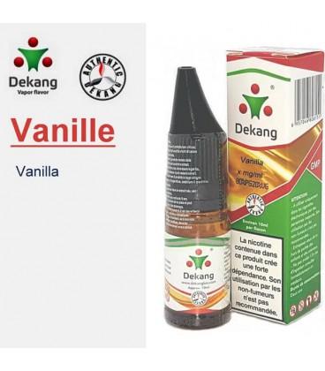 Vanille e-Liquide Dekang Silver Label, e-liquide pas cher