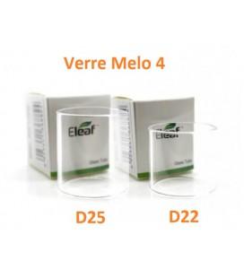 Tube Verre Pyrex Melo 4 D22 ou D25, réservoir tank Eleaf