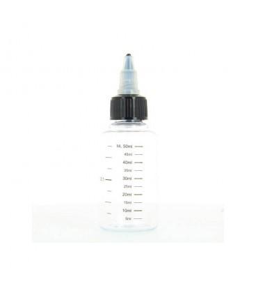 Flacon Twist Gradué 60 ml pour e-liquide DIY
