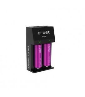 Chargeur Efest Pro C2 pour recharger deux accus