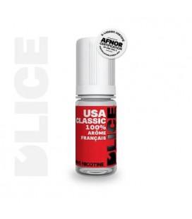 USA Classic e-Liquide D'LICE 10 ml au meilleur prix