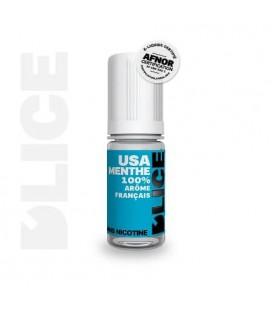 USA Menthe e-Liquide D'LICE au meilleur prix
