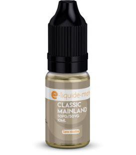 e-Liquide 10 ml Classic Mainland E-Liquide Mania