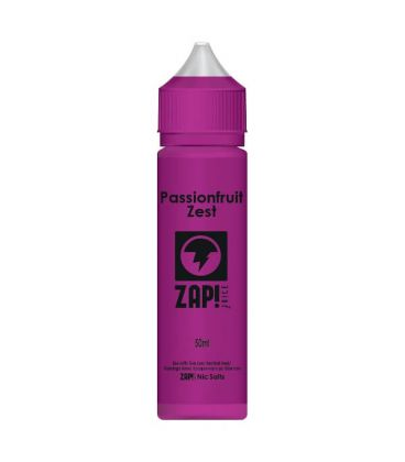 Passion Fruit Zest e-Liquide Zap Juice 50 ml Sans Nicotine