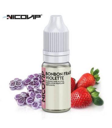 Bonbon Fraise Violette e-Liquide Nicovip