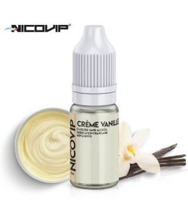 e-Liquide Crème Vanille Nicovip