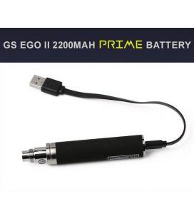 Batterie GS eGo ll Prime 2200 mAh noire avec chargeur USB