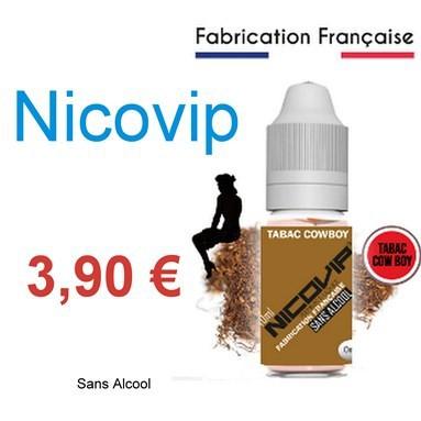 Nicovip, e-liquide français pas cher et sans alcool