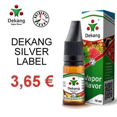 e-Liquide Dekang Silver Label pas cher